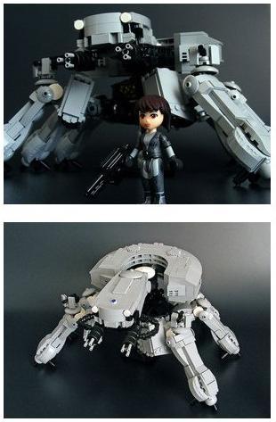 gits lego tank