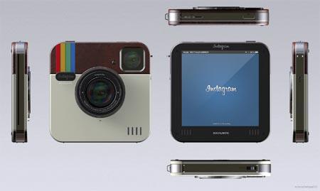 die instagram-kamera