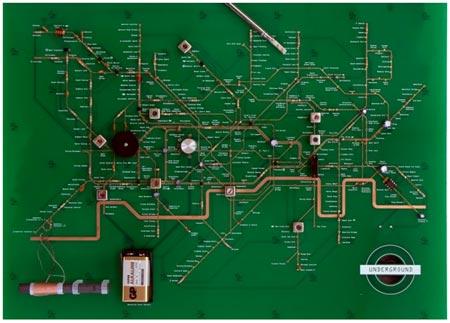 london underground motherboard