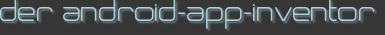 der android-app-inventor