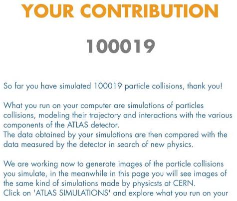 geknackt: 100000 Partikelkollisionen mit dem Laptop