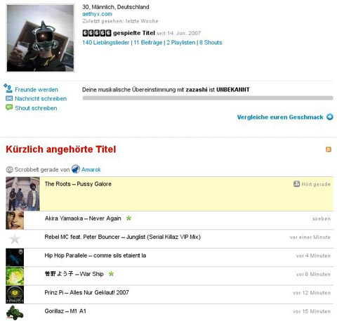 lastfm: 66666 tracks