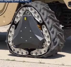 DARPA: dreieckige Reifen...