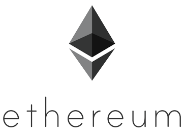 Ethereum Logo Portrait Black X-Small