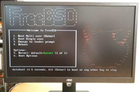 FreeBSD 12.0 auf meinem alten Desktop-PC