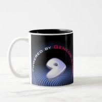 Tasse mit Logo von Gentoo Linux