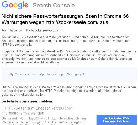 Google: wir haben Schuld an einem unsicheren Web