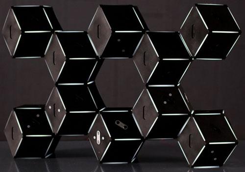 rhombendodekaeder-skulpturen