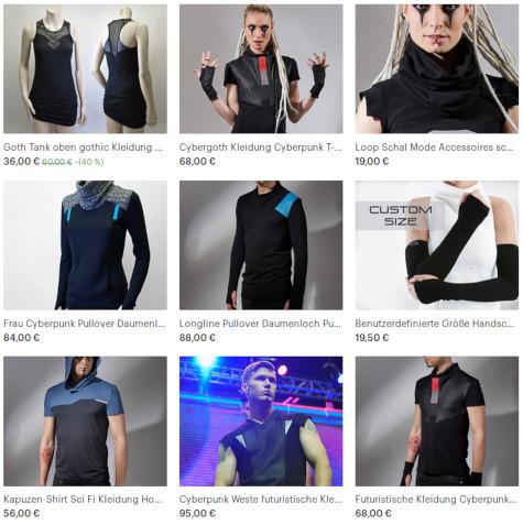 Cyberpunk-Kleidung von ZOLNAR