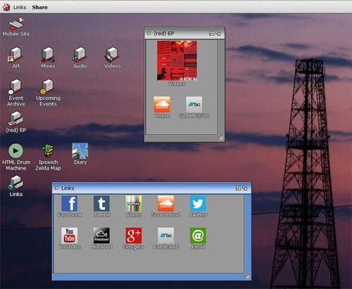 amigo os website screenshot
