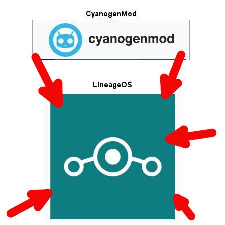 aus CyanogenMod wird LineageOS