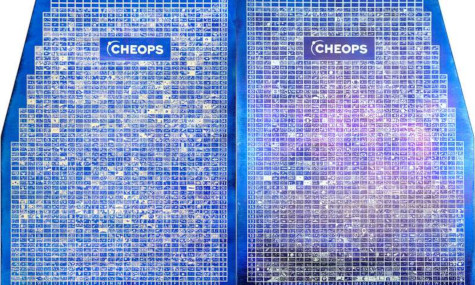ESA: Cheops-Tafeln mit 2700 Darstellungen von Kindern