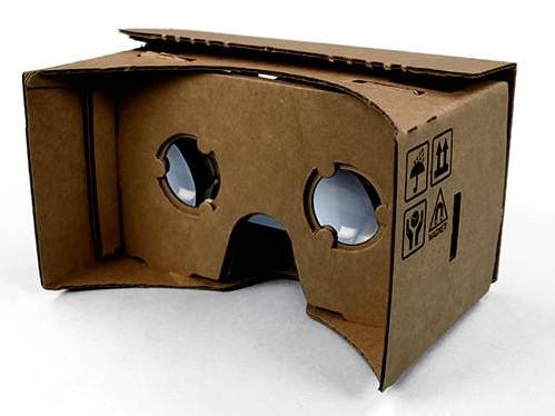 google cardboard: vr-brille
