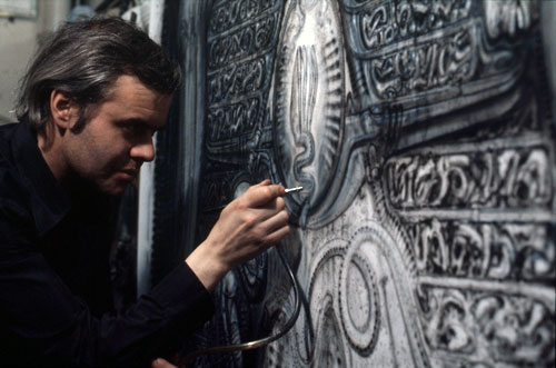 Mia Bonzanigo - HR Giger at Work, 1978