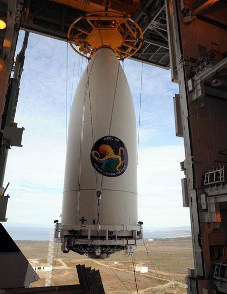 NROL-39 ueberwachungssatellit mti cthulhu-logo