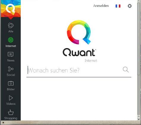 Franzoesische Suchmaschine Qwant