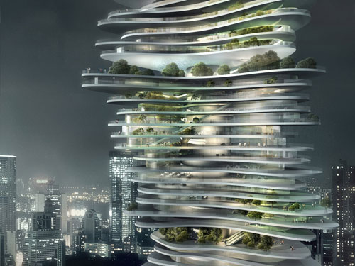 CHONGQING | Urban Forest | MAD Studio